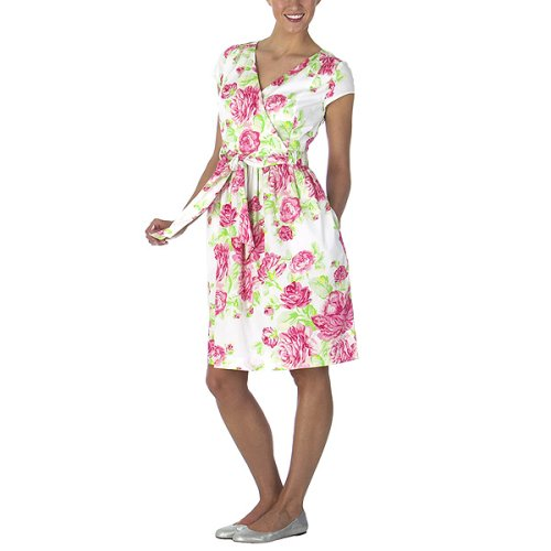 Isaac Mizrahi for Target® Wrap Dress - Floral Chintz