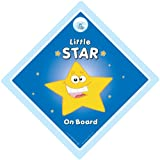 Little Star On Board Car Sign Blue Little Star On Board Car Sign Little Star Car Sign Baby on Board Sign Baby on Board Baby Sign Baby Car Sign Maternity Paternity Decal Bumper Sticker Baby Car Signs