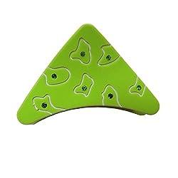 Designer Kart Women's Hair Clip (DK1540HC11G_Green_Free Size)