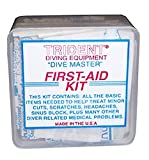 Trident Dive Master First-Aid Kit for Scuba Diving, Snorkeling, and Swimming Injuries Divers Dive Swim Swimmers Snorkel Boat Boating Sail Sailing