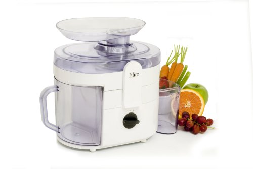 Maximatic Ejx-8700 Elite Gourmet Juice Extractor, 250-Watt, White
