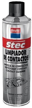 limpia-contactos-en-spray-krafft-500-ml-limpiador-seco-no-graso-no-conductor