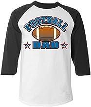 Football Dad Baseball Shirt Football Raglan Shirt