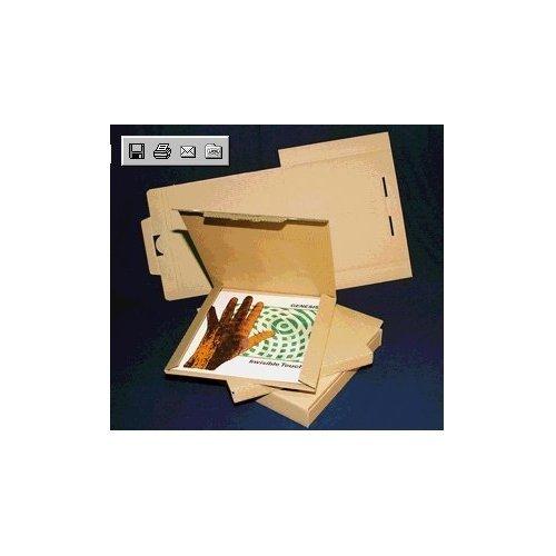 vinylboden ausverkauf 25 lp versandkartons fuer 1 3 lps vinyl versandkarton postkartons l b h. Black Bedroom Furniture Sets. Home Design Ideas