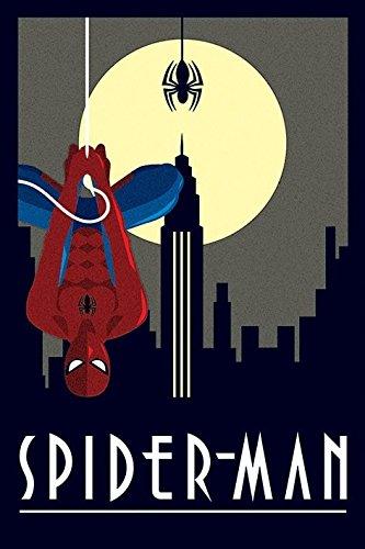 Marvel Comics Deco Poster Pack Spider-Man Hanging 61 x 91 cm (5) Pyramid International