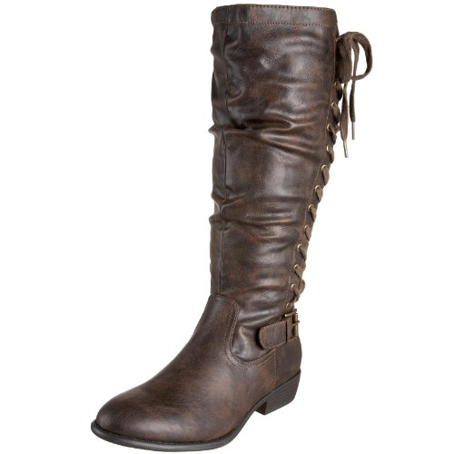 Madden Girl Women's Skyylar Knee-High Boot