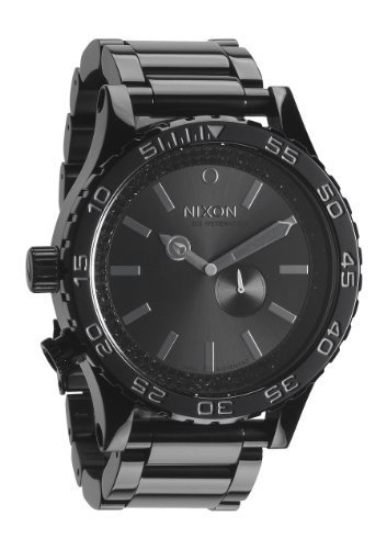 NEU! NIXON HERREN UHR A057-1150 ANALOG EDELSTAHLARMBAND 