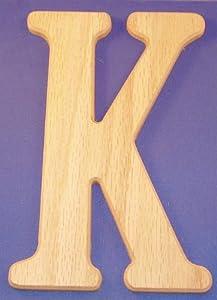 Wood Letters 14 Inch Letter K