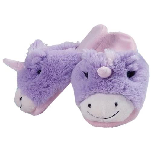 Pillow Pets Authentic Magical Unicorn Slippers Small Toy ...