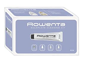 Rowenta ZD110 Non-Toxic Soleplate Cleaner Kit with Cleaning and Polishing Cloth