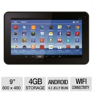 "Jazz C954 9"" Android 4.2 4GB Tablet"