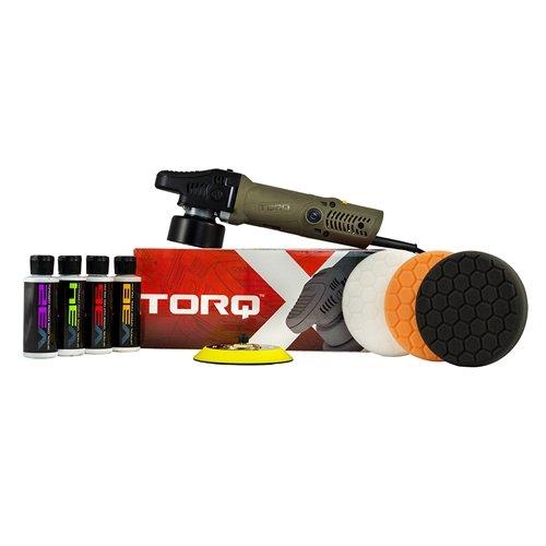 TORQ TORQX Random Orbital Polisher Kit (8 Items) (Random Orbital Buffer Polisher compare prices)