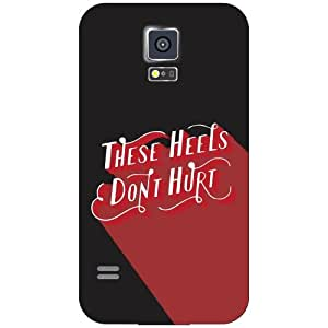 Samsung Galaxy S5 heels don't hurt Phone Cover - Matte Finish Phone Cover