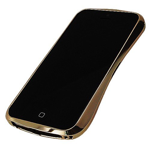 Draco Design DR51A2-GDP 5 series Luxury Gold Aluminium Bumper case for the Apple iPhone 5 / 5S Black Friday & Cyber Monday 2014