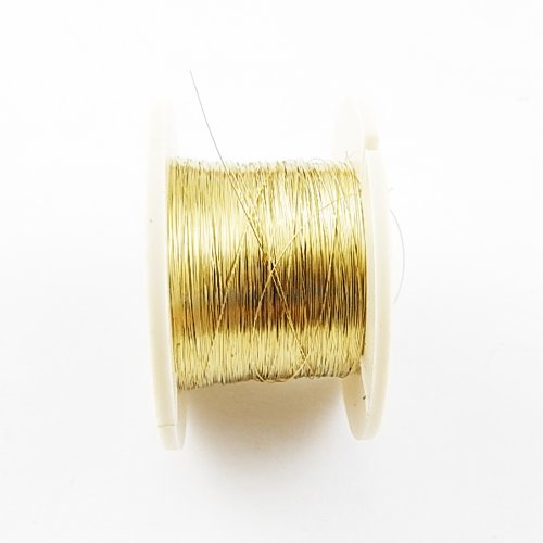 50M 0.1Mm Golden Molybdenum Wire Cutting Line For Iphone 4/4S/5/Samsung S4/S3 Glass Lcd Screen Separator (Golden)