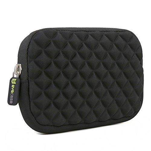 4.3-5 inch GPS Case - Evecase GPS Navigator Portable Storage Sleeve Pouch Case Bag- Black