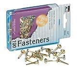 Brass Paper Fasteners 1 12 100Box