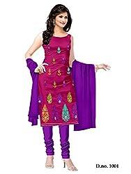 Shree Vardhman Rani Crap Unstitched Dress Material