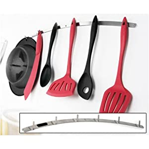 Partager facebook twitter pinterest mastrad f91050 barre for Suspension ustensiles cuisine