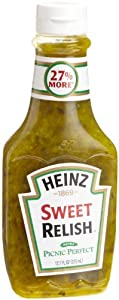 Heinz Sweet Relish 12.7 Ounce Bottle (Pack of 3)