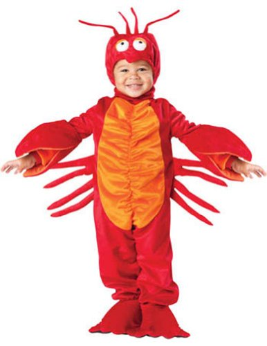 Lil Lobster Toddler Costume 4T - Toddler Halloween Costume - Incharacter