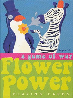 Eeboo a Game of War Flower Power Playing Cards