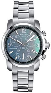 Certina C001.217.11.127.00 - Reloj de pulsera mujer, acero inoxidable/plata