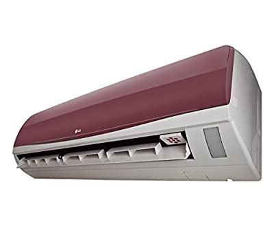 LG LSA6WT3D1 L-Energia Split AC (2 Ton, 3 Star Rating, Wine Red)
