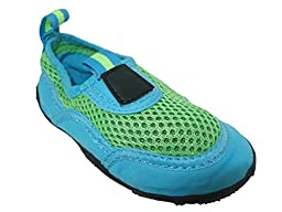 Toddler Boys Aqua Shoes - Green/Xlarge
