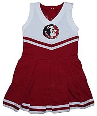 Florida State Seminoles NCAA Newborn Baby Cheerleader Bodysuit Dress