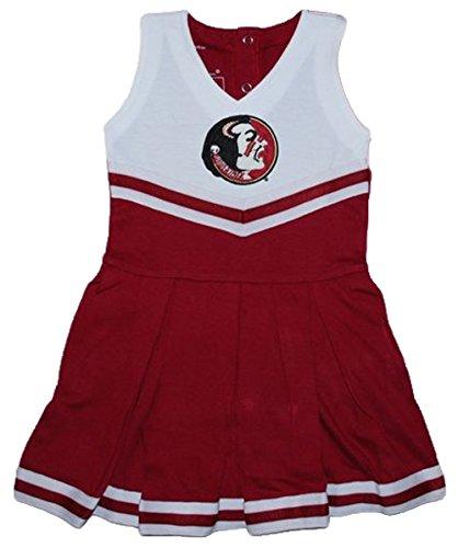florida-state-seminoles-ncaa-newborn-infant-baby-cheerleader-bodysuit-dress-12-months