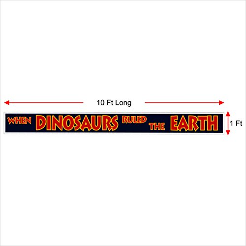 jurassic park banner sign replica great for the jurassic