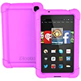 Fire HD 6 Case - Poetic Amazon Fire HD 6 Case [TURTLE SKIN Series] - Rugged Silicone Case for Amazon Kindle Fire HD 6 (2014) Purple (3-Year Manufacturer Warranty from Poetic)