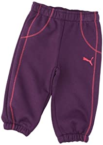 Puma BB ESS Pantalon fille Cordial Pink FR : 6 mois (Taille Fabricant : 68)