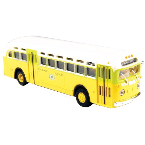 Classic Metal Works HO Scale GMC TD 3610 Transit Bus - National City Lines Destination Chicago