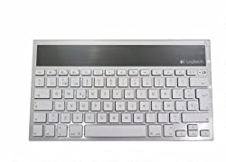 Logitech Wireless Bluetooth Solar Keyboard K760 For iPad, iPhone, iMac (Spanish Version 920-004416)