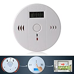 LCD CO Carbon monoxide detector - Elifestore UK LCD alarm plug Poisoning Gas Warning Sensor Monitor Alarm Detector Fire Alarms Smoke Detectors Security Home Royal mail 3-5 days Automation by Elifestore