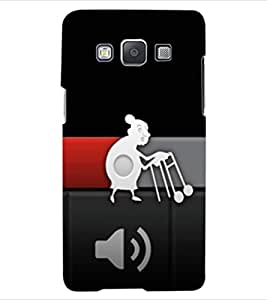 ColourCraft Funny Buffering Image Design Back Case Cover for SAMSUNG GALAXY A5 A500F