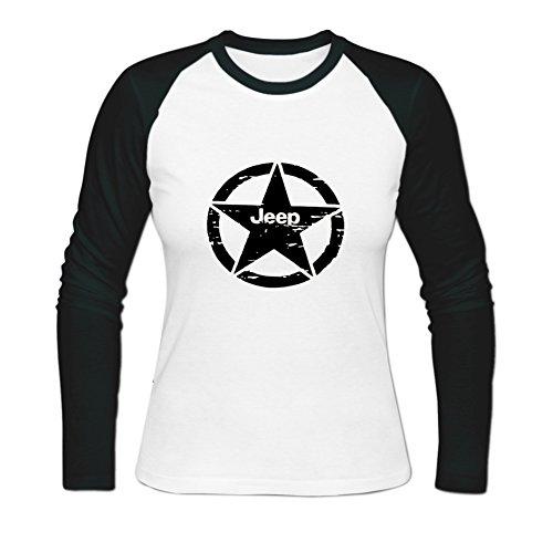 Womens Jeep Shield New 4x4 Sheriff In Town Baseball T-shirt