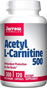 Jarrow Formulas Acetyl L-Carnitine 500mg, 120 Count