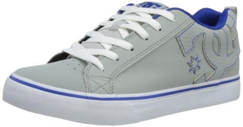 DC Shoes Mens Court Vulk Skateboarding Shoes D0303181 Grey/Blue 7 UK, 40.5 EU, 8 US