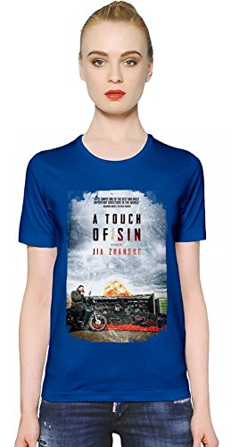 A Touch Of Sin Poster T-shirt donna Women T-Shirt Girl Ladies Stylish Fashion Fit Custom Apparel By Slick Stuff Small