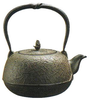 Fu iron kettle type pine needle tea for IH 1.5L / gas support (japan import) (Pooh Tea Kettle compare prices)