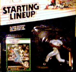 George Bell Action Figure of the Toronto Blue Jays - Major League Baseball 1989 Starting Lineup Sports Superstar Collectible
