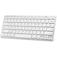 Anker 98ANSLM78-WBTA Bluetooth Wireless Keyboard (White)