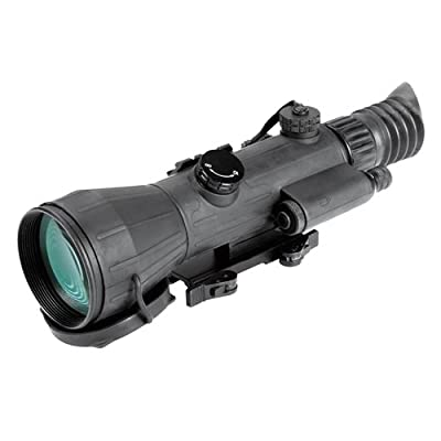 Armasight NWWSPEAR042GDS1 Spear 4X SD Gen 2+ Standard Definition Night Vision Rifle Scope, 4x Magnification, Resolution 45-51 lp/mm, F1.5 108 mm Lens System, 10° Field of View, Range of Focus 10m to infinity by FLIR :: Night Vision :: Night Vision Online