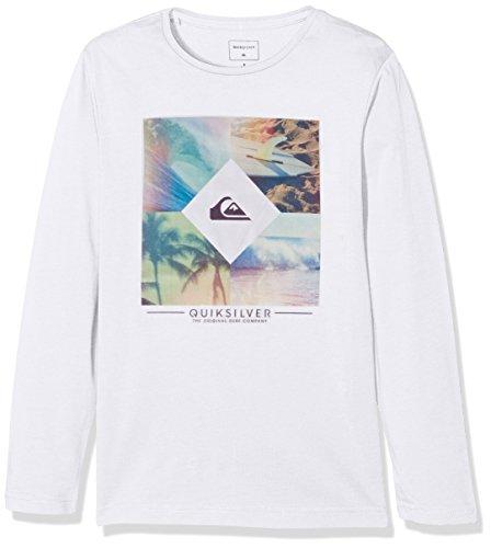 Quiksilver Diamond Day-Maglietta a maniche corte da ragazzo, taglia 16 anni (taglia del produttore: XL/16)