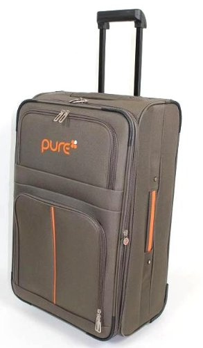 Trolley - Koffer PURE kaki/orange 50cm