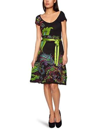 Desigual Ojala Jersey Women's Dress Black  10