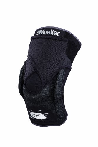 MUELLER Hg80 Knee Stabilizer Black Large